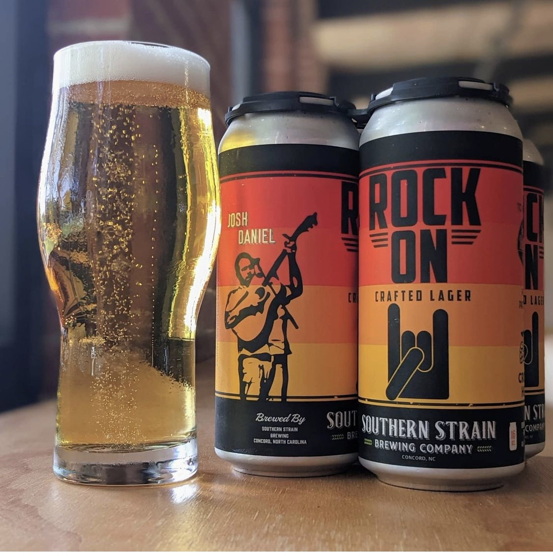 Rock On Crafted Lager